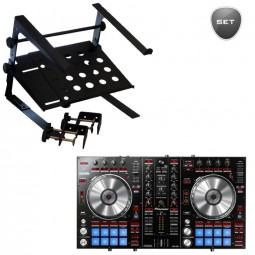 Pioneer DDJ-SR Set: inklusive Uni LTS - Laptop-Stand
