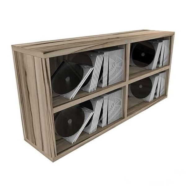 zomo cs box 100 2 zebrano cd aufbewahrungsbox regal f r 200 240 cds dj m bel mehr. Black Bedroom Furniture Sets. Home Design Ideas