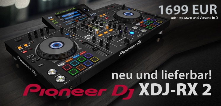 Pioneer DJ - XDJ-RX2 / inherit the booth